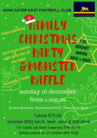 DEFC Family Christmas Party & Raffle